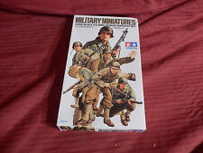 1/35 Tamiya US Army Assault Infantry 6 Figures w/ Equipment # 192 Open Box