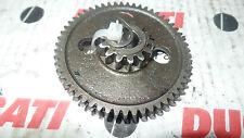 DUCATI PANTAH 350/500/600 AVVIATORE STARTER RUOTA INGRANAGGIO MOTORE engine AW 389