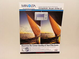 MINOLTA-DIMAGE-SCAN-ELITE-II-SALES-BROCHURE
