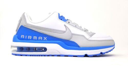 687977-104 Nike Mens Air Max LTD 3 White/Neutral Grey-Univrsty BL