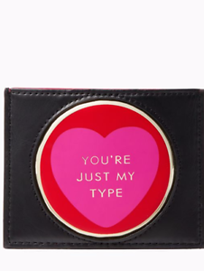 KATE-SPADE-Be-Mine-Card-Holder-Limited-Edition-Genuine-Leather-BNWT