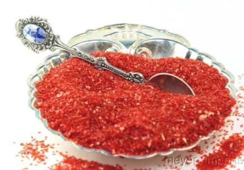 Dark Orange Chunky Glitter Crystals 311-C7-013