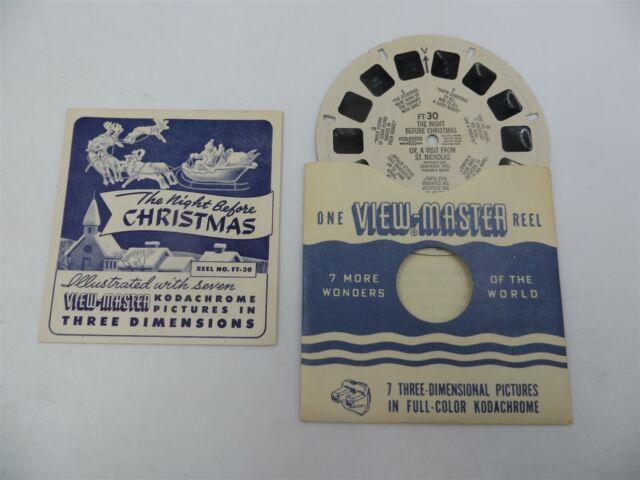 Vintage View Master Single Reels For Sale
