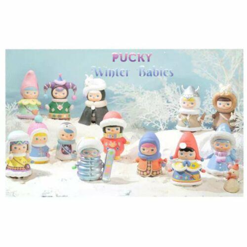 "Pop Mart Pucky WINTER BABIES 3/"" Vinyl Mini-Figures **YOUR CHOICE**"
