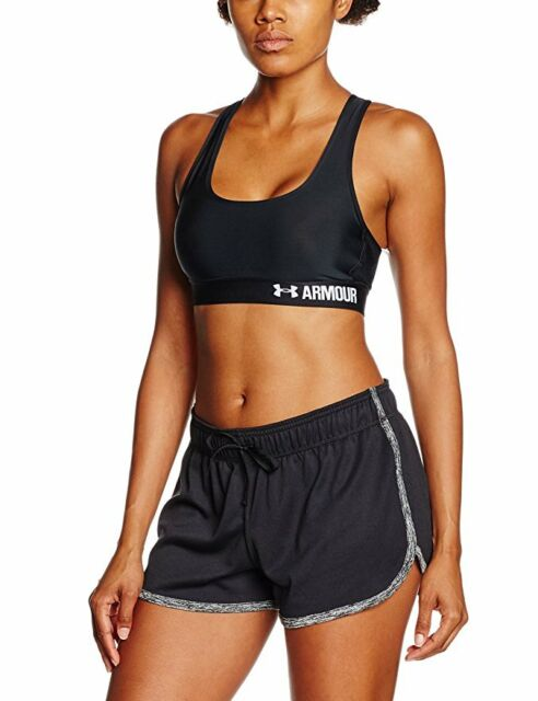4fa7a736b36e9 Under Armour Women s Armour Mid Crossback Sports Bra Large ...
