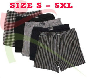 6-12-Packs-Mens-Value-Classic-Sport-1-Button-Fly-Boxers-Jersey-Underwear-Briefs