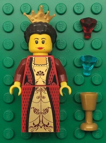 woman girl lady maiden castle figure Lego Red Queen Princess Minifig Lot