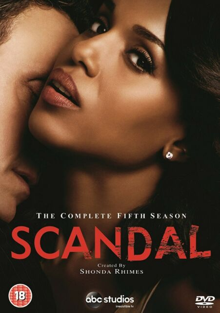 Scandal Complete Series 5 DVD Fifth 5th Season Five Original UK Release BrandNEW
