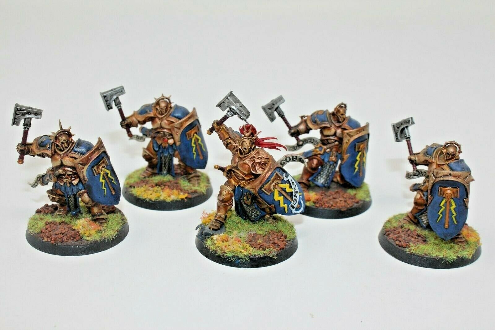 Warhammer Stormcast Eternals Liberators Well Painted - JYS90