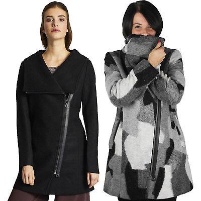 Khujo Zoes Damen-Mantel Wollmantel Wolljacke Winterjacke Damenjacke Jacke NEU