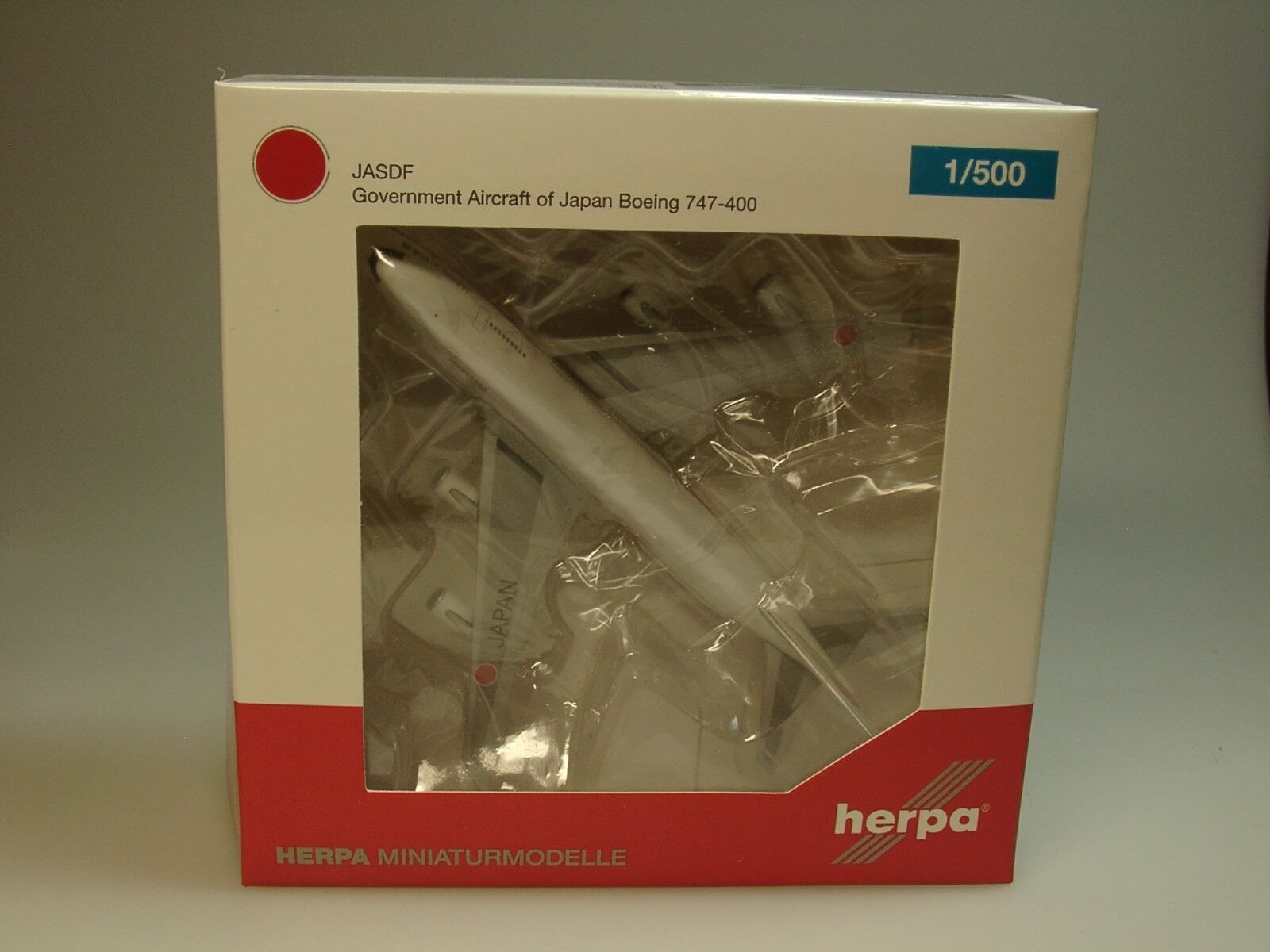 Herpa Wings boeing 747-400 747-400 747-400 Japan Air Self Defence Force - 511575-001 - 1 500 4b7e70