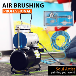 VIVOHOME-Airbrush-Compressor-Kit-Dual-Action-Spray-Gun-Paint-Tattoo-Nail-Art-Set