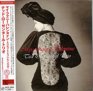 TED-ROSENTHAL-TRIO-MY-FUNNY-VALENTINE-JAPAN-MINI-LP-CD-C75
