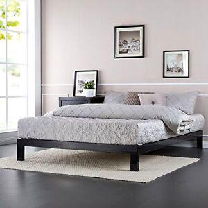 New Full Size Modern Studio Platform 2000 Metal Bed Frame No