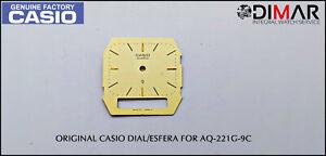 Replacement Vintage Original Sphere / Dial Casio For AQ-221G-9C