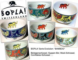 BAMBOO-BOPLA-Porzellan-Beilagen-Schaelchen-Schale-BOL-fuer-Muesli-Suppe-Gebaeck-NEU