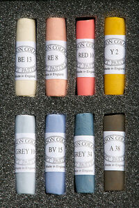 Unison-Artist-039-s-Hand-Made-Soft-Pastel-Selection-Sets-of-8-Colours