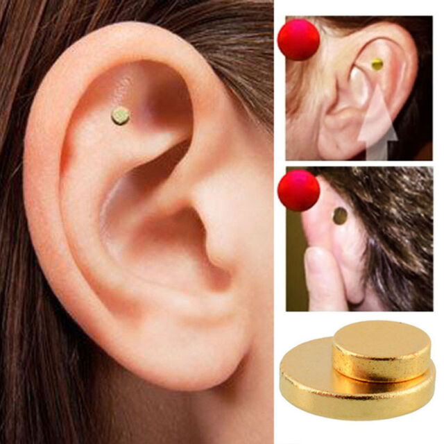Quit Smoking Stop Smoke Auricular Ear Magnet Therapy Weight Loss