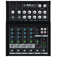 Mackie Mix8 8-channel Compact Mixer,
