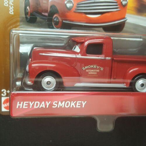 DISNEY PIXAR CARS HEYDAY SMOKEY DOC/'S RACING DAYS 2019 SAVE 6/% GMC