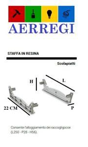 COPPIA SUPPORTO STAFFE SCOLAPIATTI STAFFA PLASTICA RICAMBIO SCOLAPIATTI