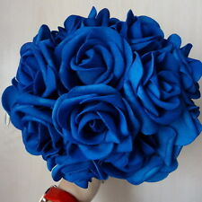 10 Fake Flowers Artificial Roses For Bridal Bouquets Wedding Floral Centerpieces
