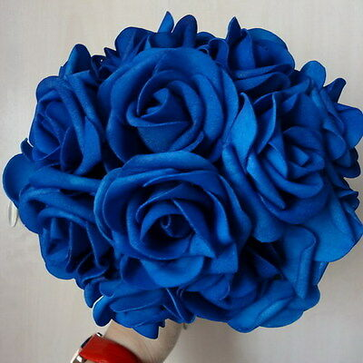 10X Real Like Artificial Flowers For Bridal Bouquet Wedding Floral Centerpieces