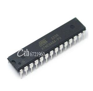 10pcs ATMEGA8A-PU ATMEGA8A DIP-28 MCU AVR 8K FLASH 16MHZ CHIP IC