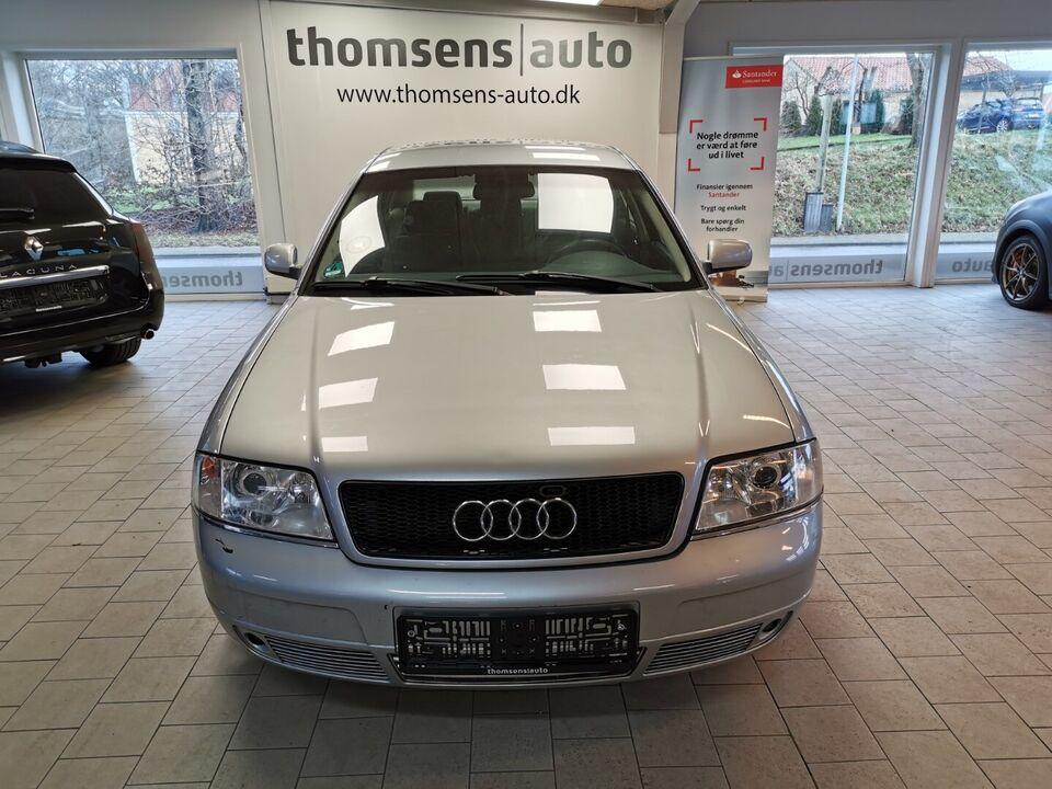 Audi A6 2,4 V6 Tiptr. Benzin aut. Automatgear modelår 1997