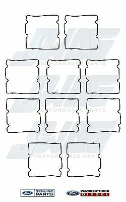 03-10 OEM Ford 6.0L Powerstroke HPOP High Pressure Oil Pump Cover Gasket 10 Pack