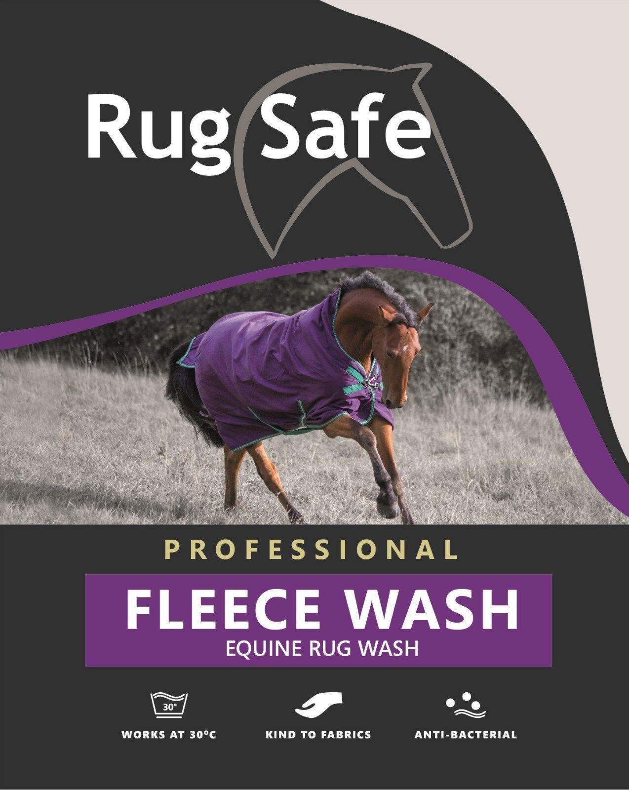 RugSafe UK Horse Rug Wash - Fleece Wash - 5ltrs