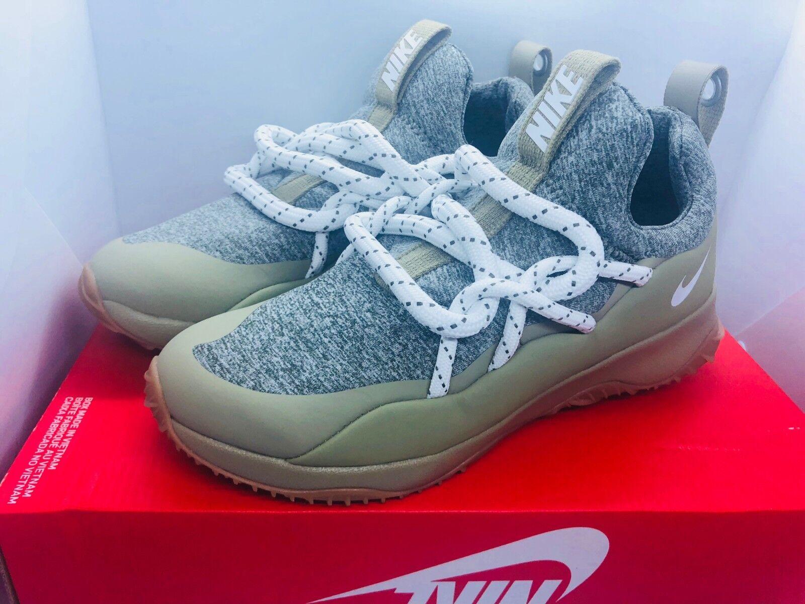 04eedcda8e62 Women s Nike City Loop Loop Loop Casual Shoes Medium Olive Summit White  AA1097-200 Sz 7 8 2cfd05