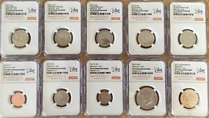 2017-S-NGC-SP70-FIRST-DAY-ANA-225TH-ANNIVERSARY-ENHANCED-UNCIRCULATED-SET-FDI