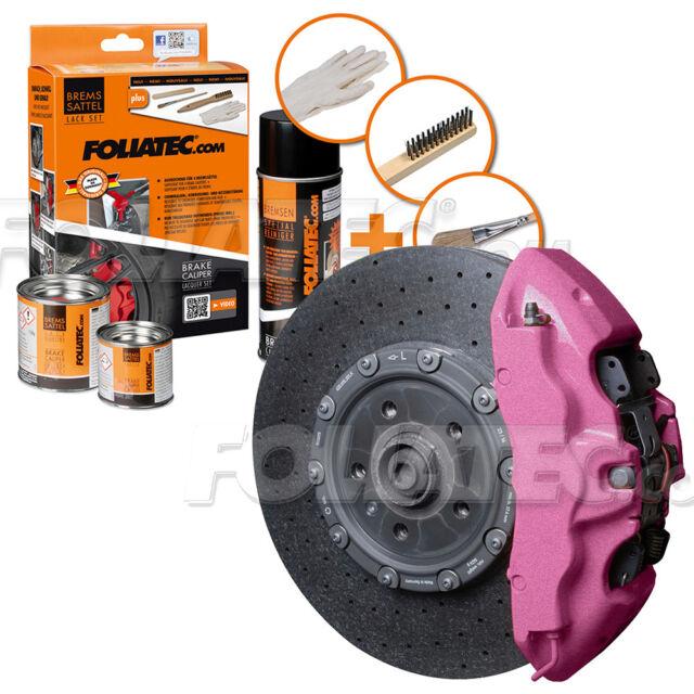 FOLIATEC Bremssattellack Pink metallic Bremssattelfarbe Bremssattel Motorlack