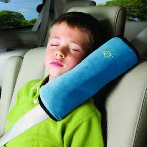 Car Kids Safety Strap Cover Harness Pillow Shoulder Child Pad Seat Belt D4Y3