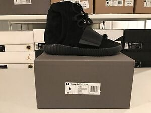 806045ede Adidas Yeezy 750 Boost. Kanye West Shoes Triple Black 100% Authentic ...