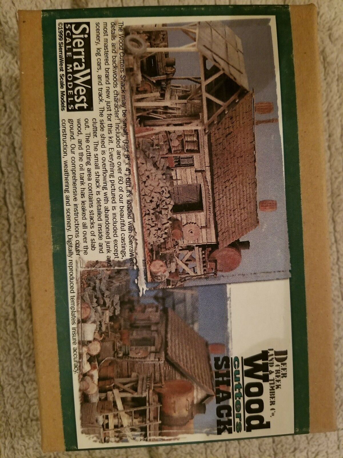 Sierra West -Wood Cutters Shack kit 3587;8087