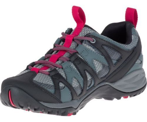 Black Trainers Up Siren Leather Q2 Merrell Walking Lace Ladies Hex wqRO1AK