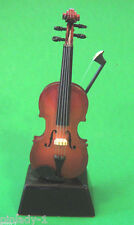 VIOLIN -   miniature mounted on base - stand