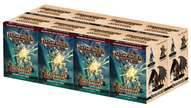 Pathfinder Battles - Legendary Adventures Booster (Brick of 8) !