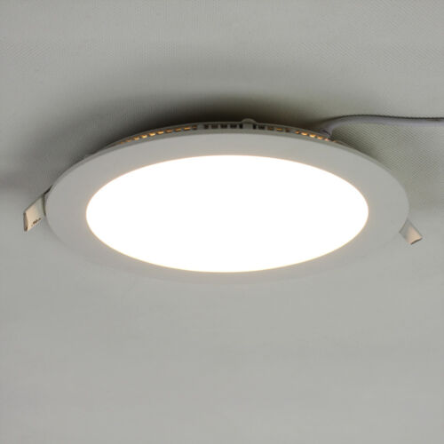 6W 9W 12W 15W 18W LED Panel Lampe Einbauleuchte Deckenleuchte Aufputzlampe Rund