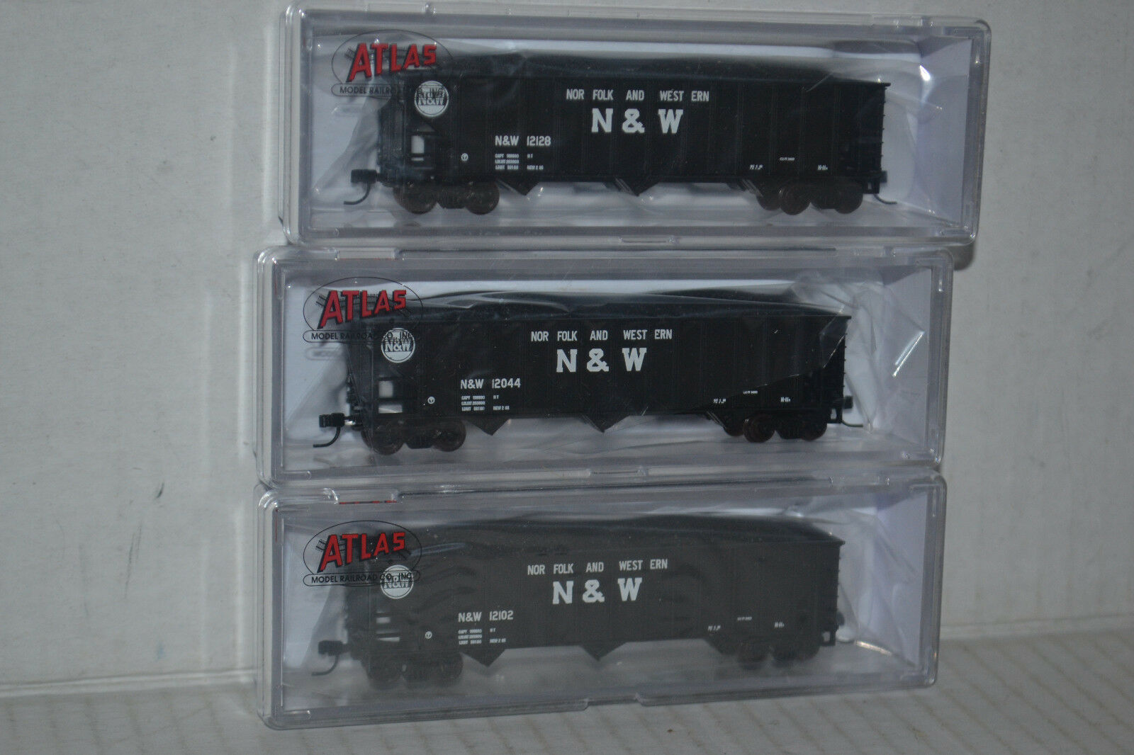 3 Atlas N&W Norfolk & Western 90T Hopper N scale 50002869, 70, 71