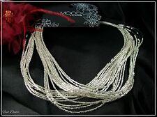 Jon Richard. graduado Multi Strand Cristal Semilla Perla Collar. precio del billete £ 10.