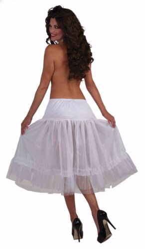 Crinoline Tea Length Petticoat Available in Black or White