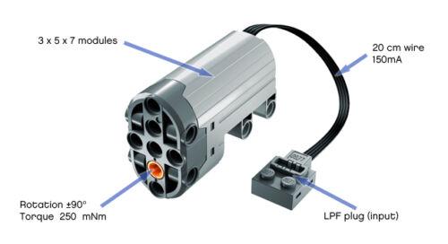 Lego technic power functions servo moteur 88004 neuf 1st classe livraison