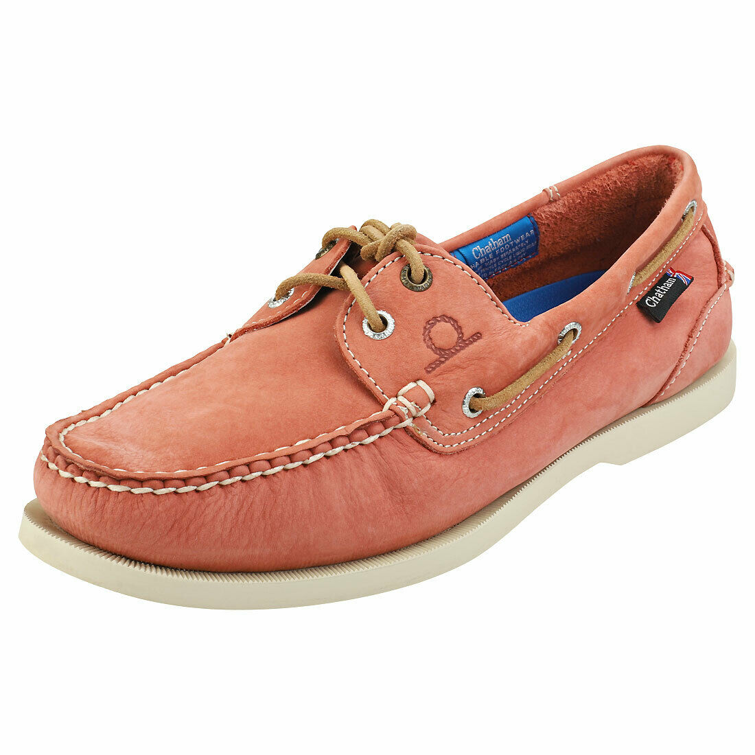 Chatham Compass 2 G2 Mens Terracotta Leather Boat schuhe
