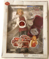 Hannah Montana 2008 Christmas Holiday Pop Star Singing Figure Doll