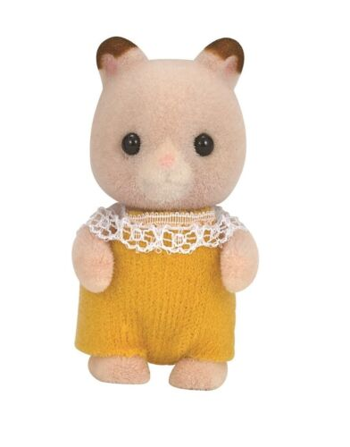 New Sylvanian Families Calico Critters Dolls Hamster baby Mu-08 Genuine Japan
