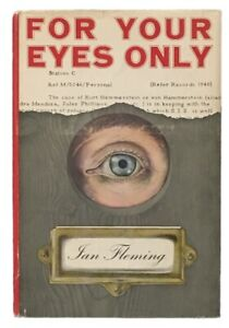 Ian-Fleming-For-Your-Eyes-Only-FIRST-EDITION