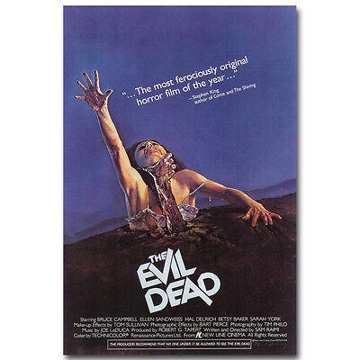 "A Nightmare on Elm Street USA Horror Movie New Silk Poster 12x18/"" 24x36/"" 002"